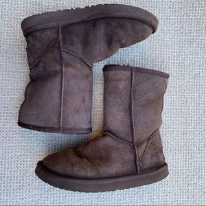 Ugg Brown Short Boots Size 7